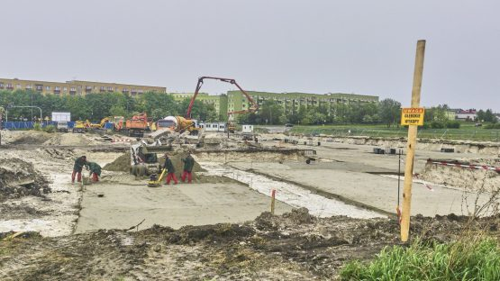 Chełm, wykopy, stabilizacja, Vendo-park